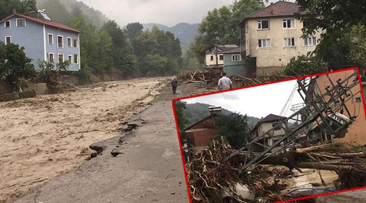 Bartın ve Sinop'ta sağanak yağışlar sele neden oldu: 1 kişi kayıp