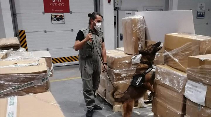 İstanbul Havalimanı'nda uyuşturucu yapımında kullanılan 4,3 ton madde geçirildi