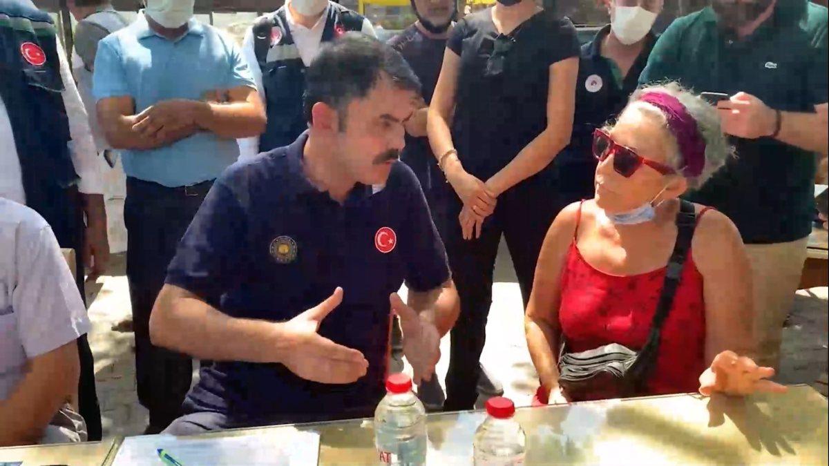 Murat Kurum, provokatör şahsa yapılanları tek tek anlattı