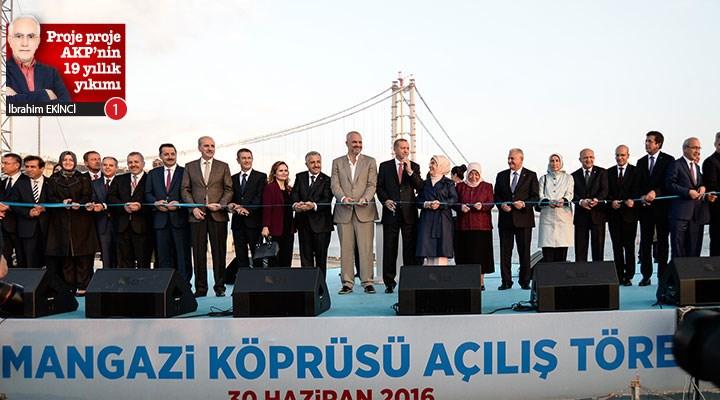 Proje proje AKP'nin 19 yıllık yıkımı